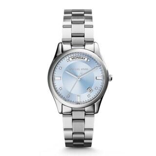 Michael Kors Women's MK6068 'Colette' Blue Dial Stainless Steel Watch