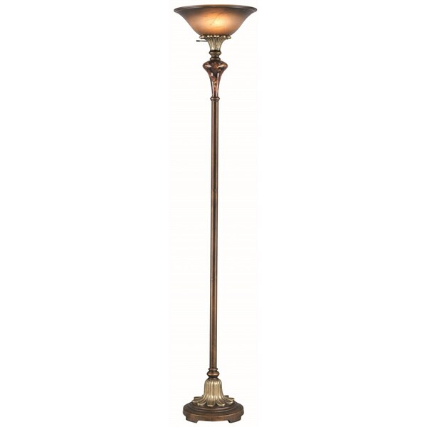 Lite Source Savoir Faire 1-light Torchiere Lamp