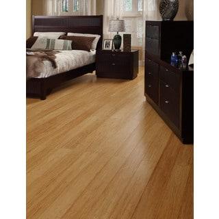 Envi Strand-woven 25.2 sq. ft. Natural Bamboo EZ Click Flooring