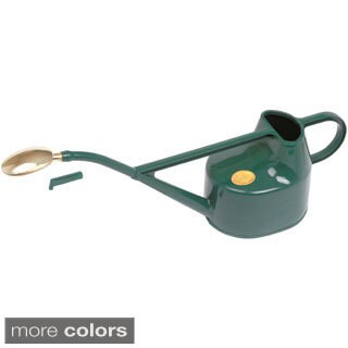 English Garden Haws Deluxe 1.3 Gallon Outdoor Plastic Watering Can