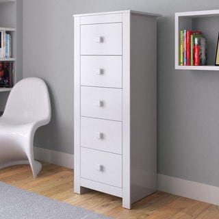 CorLiving Madison Tall Boy Chest of Drawers