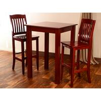 Mahogany Bar Set (3-piece)