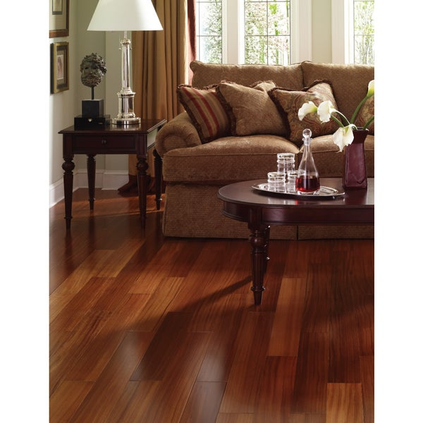 Envi brazilian teak tg sq ft solid wood flooring for Hardwood floors 600 sq ft