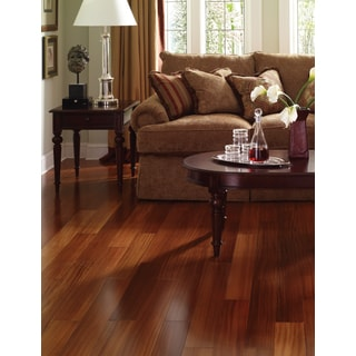 Envi Brazilian Teak TG 15.56 sq. ft. Solid Wood Flooring