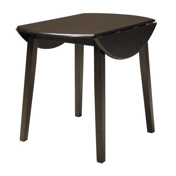 Signature Design by Ashley Hammis Round Drop Leaf Table - Free ...