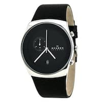 Skagen Men's  Havene Chronograph Leather Watch