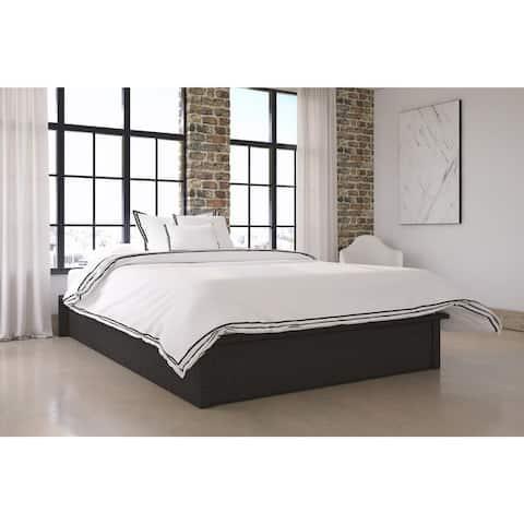 Porch & Den Oakley Upholstered Platform Bed