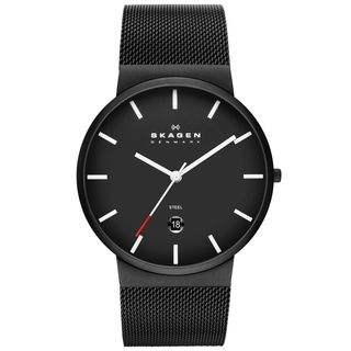 Skagen Men's Ancher Steel Mesh Watch