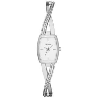 DKNY Women's NY2252 Crosswalk Silvertone Watch