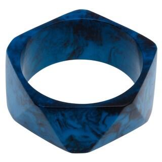 Sitara Handmade Blue Swirl Bracelet Bracelet (India)