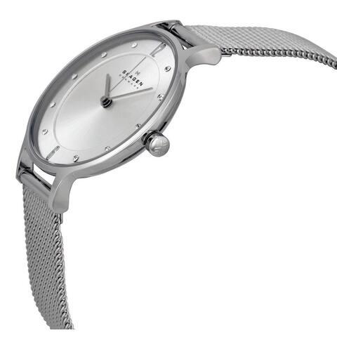 Skagen Women's SKW2149 Steel Mesh Watch - silver