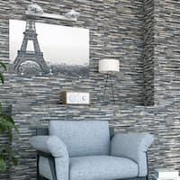 SomerTile 12.5x24.5-inch Muro Ariana Gris Porcelain Wall Tile (5 tiles/11 sqft.)