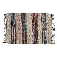 Hand-woven Broadway Collection Beige Rug (8' x 10')