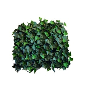 Indoor/Outdoor English Ivy Artificial Foliage Wall Panels (Set of 4)