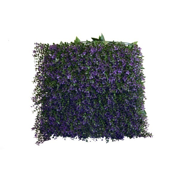 Greensmart Decor Lavanda Artificial Foliage Wall Panels (Set of 4)