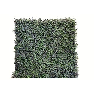 Indoor/Outdoor Dollar Leaf Artificial Foliage Wall Panels (Set of 4)