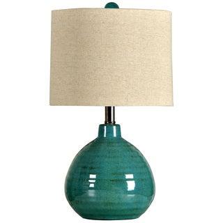 Turquoise Ceramic Accent Table Lamp