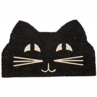 "Cat Face Non-slip Coir Doormat (17"" x 28"")"