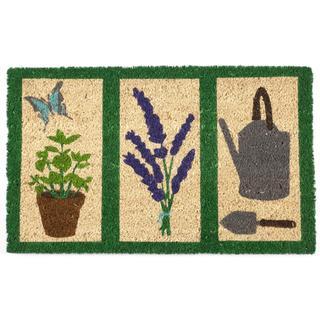 """Garden Tools Non-slip Coir Doormat (17"""" x 28"""")"""