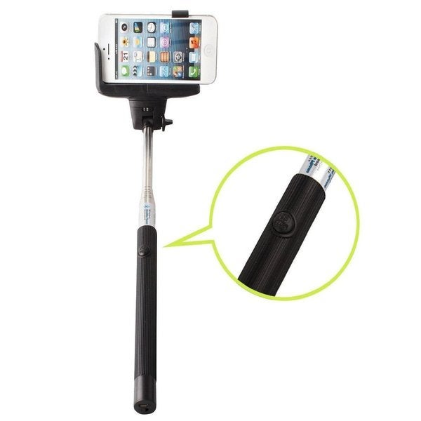 polaroid extendable bluetooth monopod selfie stick free shipping on orders over 45. Black Bedroom Furniture Sets. Home Design Ideas