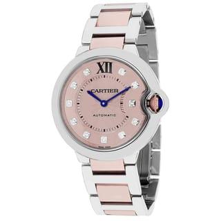 Cartier Women's Ballon Bleu Round Two-Tone Bracelet Watch
