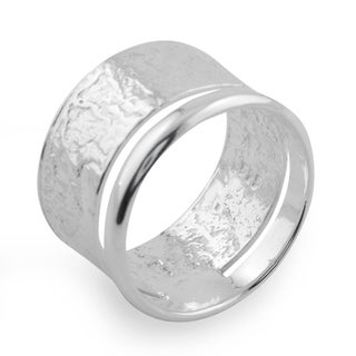 Handcrafted Sterling Silver 'Taxco Melody' Ring (Mexico)