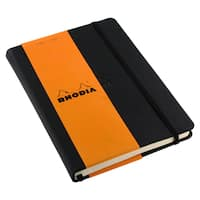 Rhodia Dot Grid Paper Webnotebook, Black