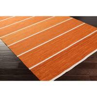 Hand-Woven Lyne Casual Wool Area Rug (8' x 11')