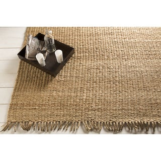 Hand-Woven Don Jute Reversible Rug (5' x 8')