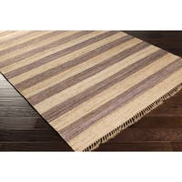 Hand-Woven Becky Casual Jute Area Rug - 8' x 11'