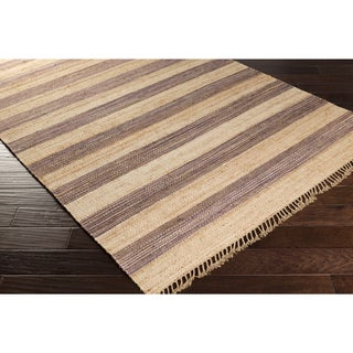 Hand-Woven Becky Casual Jute Area Rug (8' x 11')