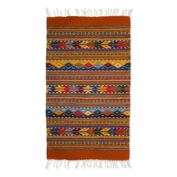Shop Zapotec Wool Zapotec Fantasy Rug 2x3 2x3 On