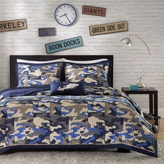 Kids       amp  Teen Bedding   Shop The Best Deals For Mar      Overstock Mi Zone Danny   piece Coverlet Set
