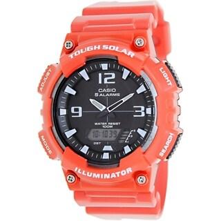 Casio Men's Sport AQS810WC-4AV Black Plastic Quartz Watch