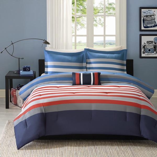 Mi Zone Noah 4-piece Comforter Set. Opens flyout.
