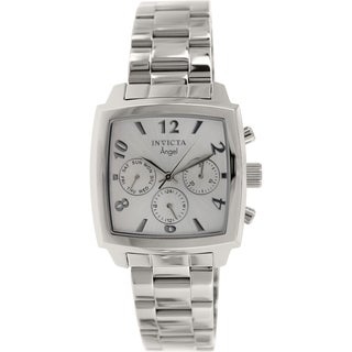 Invicta Women's Angel 12100 Stainless Steel Swiss Chronograph Watch