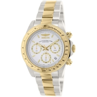 Invicta Men's Speedway 7029 Stainless Steel Quartz Watch