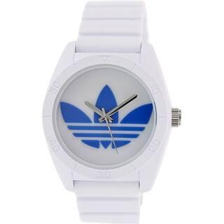 Adidas Men's Santiago White Silicone Quartz Watch|https://ak1.ostkcdn.com/images/products/9758531/P16930495.jpg?impolicy=medium