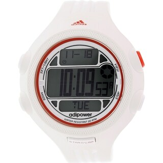 Adidas Men's Adipower ADP3132 White Silicone Quartz Watch