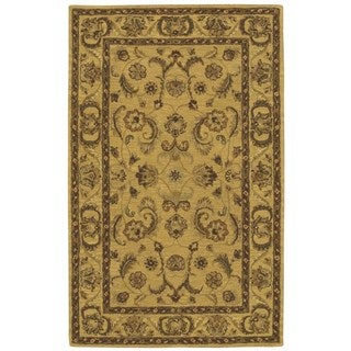 Nourison India House Gold Rug (3'6 x 5'6)