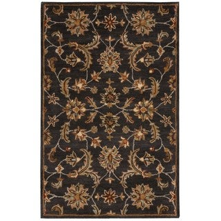 Nourison India House Charcoal Rug (3'6 x 5'6)