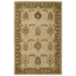 Nourison India House Ivory/ Gold Rug (3'6 x 5'6)