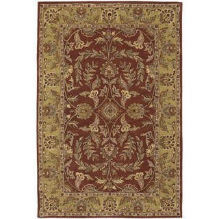 Nourison India House Rust Rug (5' x 8')