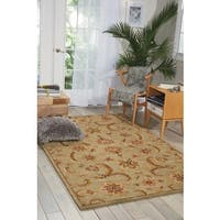 Nourison India House Light Green Rug (5' x 8') - 5' x 8'