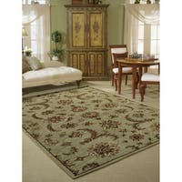 Nourison India House Light Green Rug - 8' x 10'6