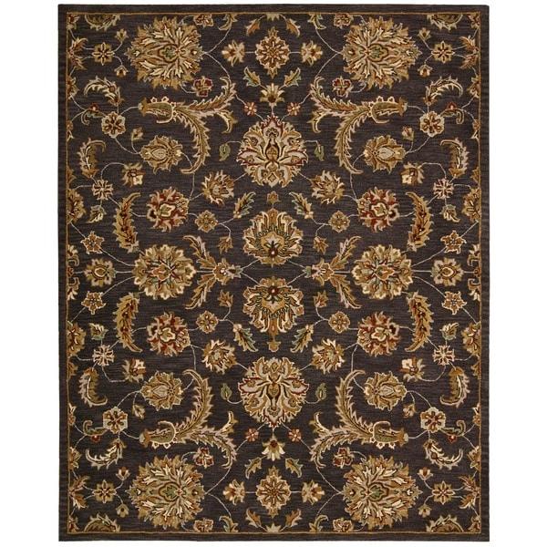 Nourison India House Charcoal Rug (8' x 10'6)