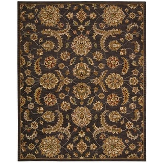 Nourison India House Charcoal Rug (8' x 10'6)