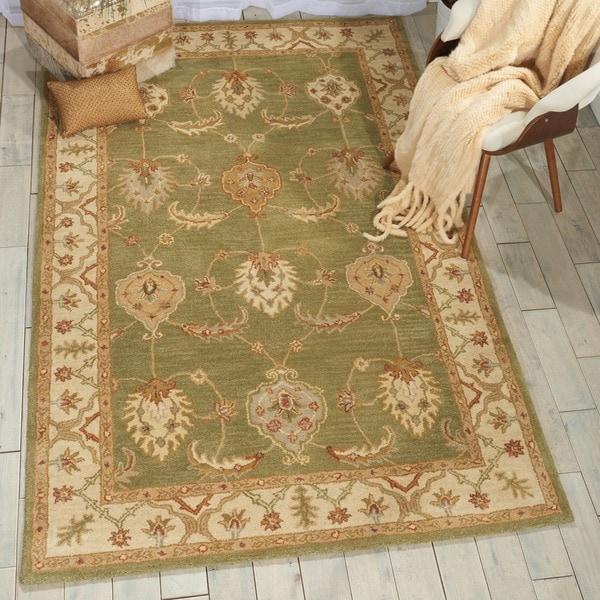 Nourison India House Kiwi Rug (8' x 10'6)