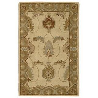 Nourison India House Ivory/ Gold Rug (2'6 x 4')