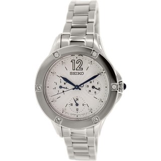 Seiko Women's SKY671 Stainless Steel Quartz Watch